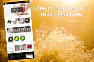 HiTime xây dựng website cho Công ty Thắng Hằng